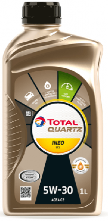 Motorový olej 5W-30 Total Quartz INEO ECS - 1 L