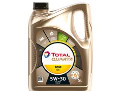 Motorový olej 5W-30 Total Quartz 9000 NFC - 5 L Motorové oleje - Motorové oleje pro osobní automobily - Oleje 5W-30