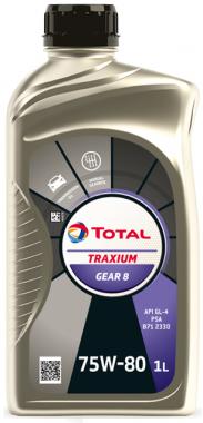 Převodový olej 75W-80 Total Transmission GEAR 8 (BV) - 1 L - Oleje 75W-80