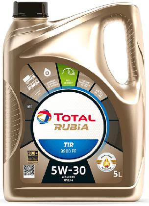 Motorový olej 5W-30 Total Rubia TIR 9900 FE - 5 L