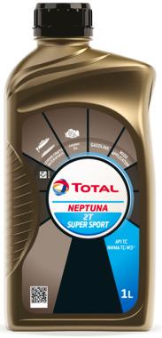 Motorový olej pro lodě 5W-30 Total Neptuna 2T Super Sport - 1 L - Oleje pro 2-taktní motory