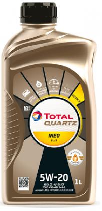 Motorový olej 5W-20 Total Quartz INEO EcoB - 1 L - Oleje 5W-20