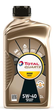 Motorový olej 5W-40 Total Quartz Energy 9000 - 1 L - Oleje 5W-40