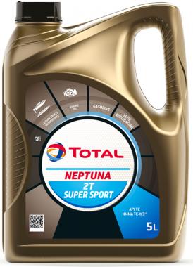 Motorový olej pro lodě 5W-30 Total Neptuna 2T Super Sport - 5 L