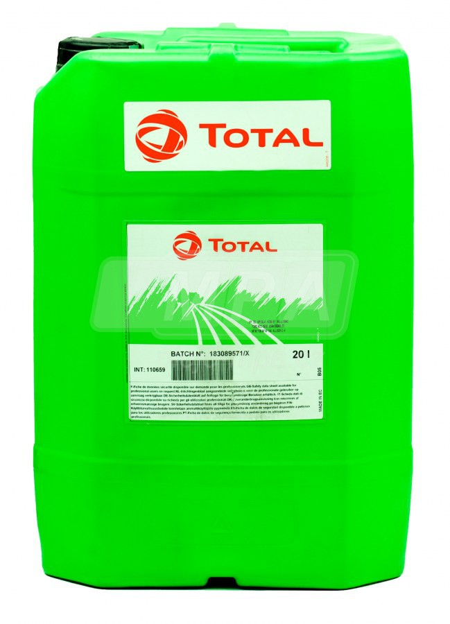 Zemědělský olej 10W-40 Total Multagri PRO-TEC - 20 L - STOU - pro motor, převodovku, hydrauliku, mokré brzdy a spojky