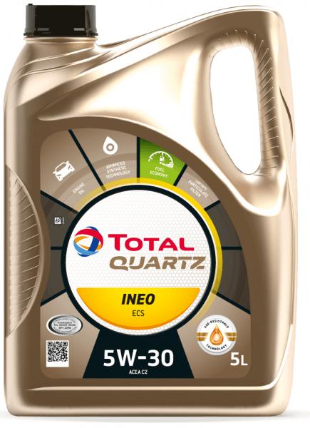 Motorový olej 5W-30 Total Quartz INEO ECS - 5 L - Oleje 5W-30