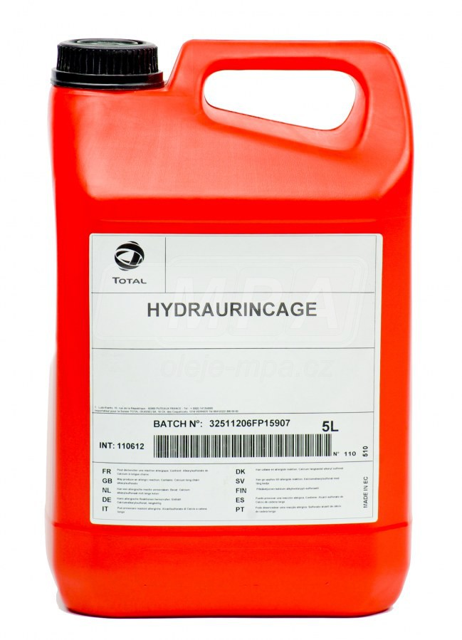 Výplachový olej Total Hydraurincage - 5l - Kapaliny Peugeot a Citroen