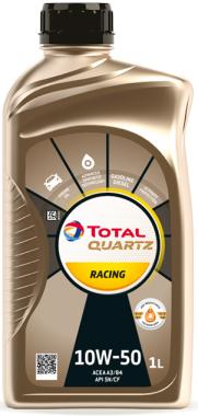 Motorový olej 10W-50 Total Quartz RACING - 1 L - Motorové oleje pro závodní automobily