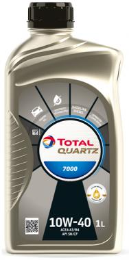 Motorový olej 10W-40 Total Quartz 7000 - 1 L - Oleje 10W-40