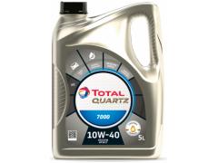 Motorový olej 10W-40 Total Quartz 7000 - 5 L Motorové oleje - Motorové oleje pro osobní automobily - Oleje 10W-40