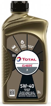 Motorový olej 5W-40 Total Classic 9 - 1 L