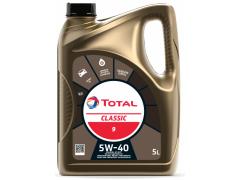 Motorový olej 5W-40 Total Classic 9 - 5 L Motorové oleje - Motorové oleje pro osobní automobily - Oleje 5W-40