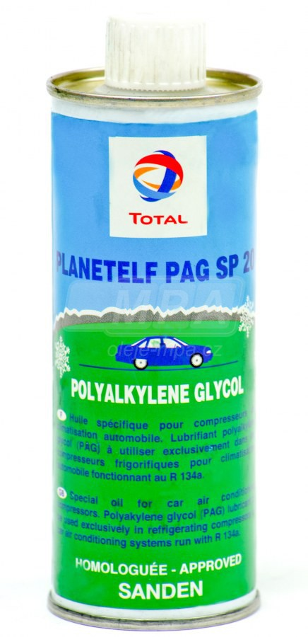 Kompresorový olej Total Planetelf PAG 488 130- 0,25 L - Chladící kompresory