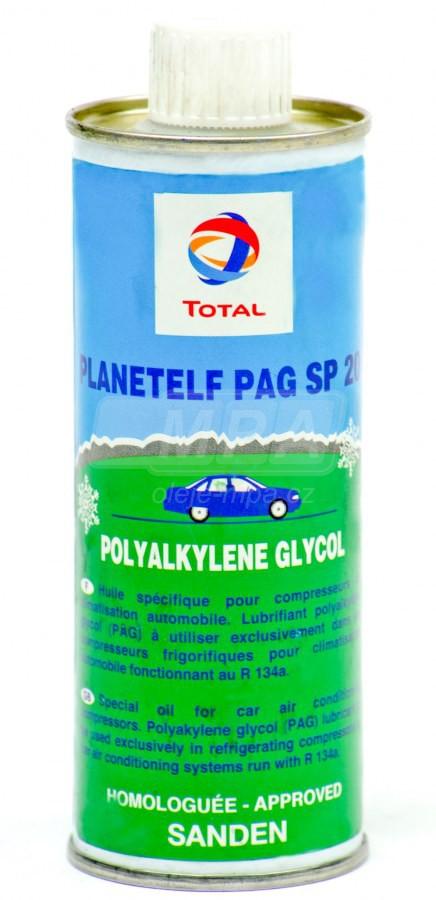 Kompresorový olej Total Planetelf PAG SP20 - 0,25 L - Chladící kompresory