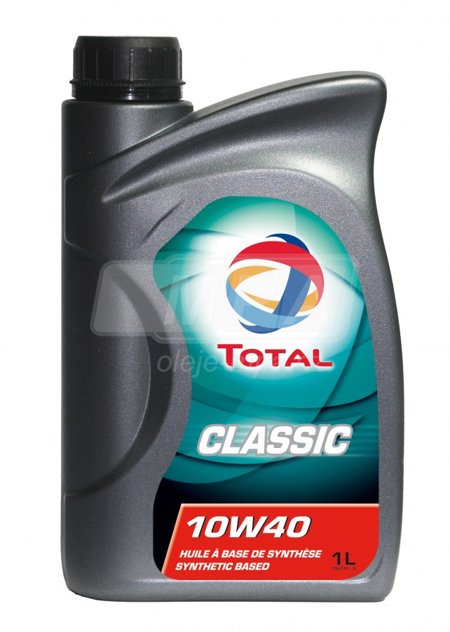 Olej 10W-40 Total Classic - 1l - Oleje 10W-40