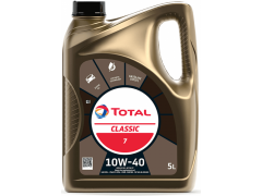 Motorový olej 10W-40 Total Classic 7 - 5 L Motorové oleje - Motorové oleje pro osobní automobily - Oleje 10W-40