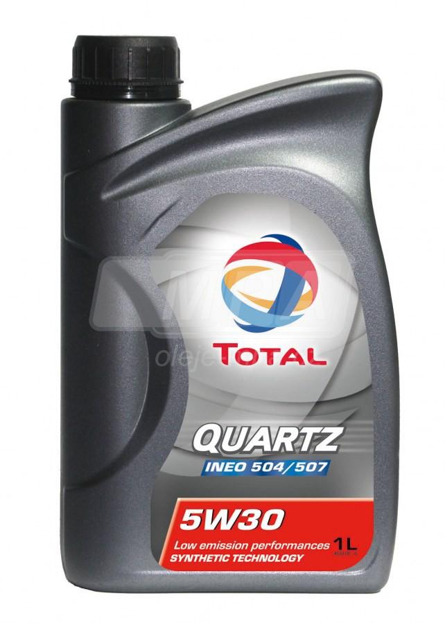 Olej 5W-30 Total Quartz INEO LONG LIFE - 1l - Oleje 5W-30
