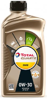 Motorový olej 0W-30 Total Quartz 9000 - 1 L