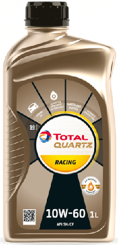 Motorový olej 10W-60 Total Quartz Racing - 1 L - Motorové oleje pro závodní automobily