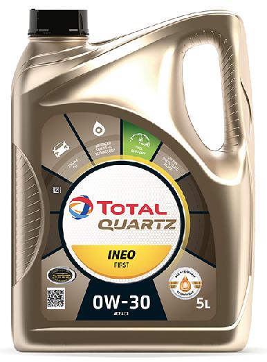 Motorový olej 0W-30 Total Quartz INEO First - 5 L - Oleje 0W-30