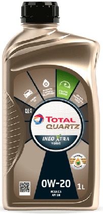 Motorový olej 0W-20 Total Quartz INEO Xtra V-DRIVE - 1 L - Oleje 0W-20