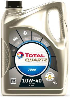 Motorový olej 10W-40 Total Quartz 7000 - 4 L - Oleje 10W-40