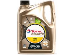 Motorový olej 0W-30 Total Quartz INEO LONG LIFE - 5 L Motorové oleje - Motorové oleje pro osobní automobily - Oleje 0W-30