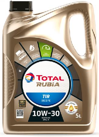 Motorový olej 10W-30 Total Rubia TIR 8900 FE - 5 L