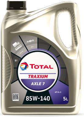 Převodový olej 85W-140 Total Traxium AXLE 7 (Transmission) - 5 L