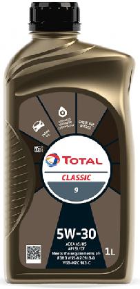 Motorový olej 5W-30 Total Classic 9 - 1 L - Oleje 5W-30