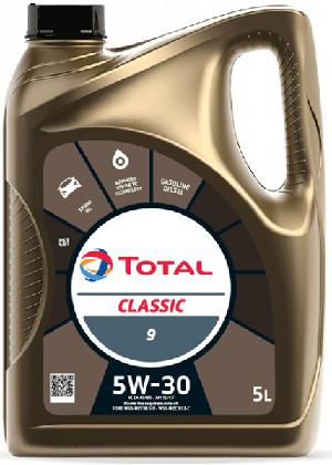 Motorový olej 5W-30 Total Classic 9 - 5 L