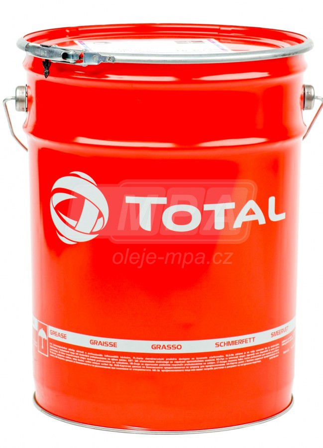Vazelína Total Ceran WR 2 - 18 KG - Průmyslová maziva CERAN