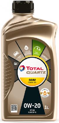 Motorový olej 0W-20 Total Quartz 9000 Future GF5 - 1 L - Oleje 0W-20