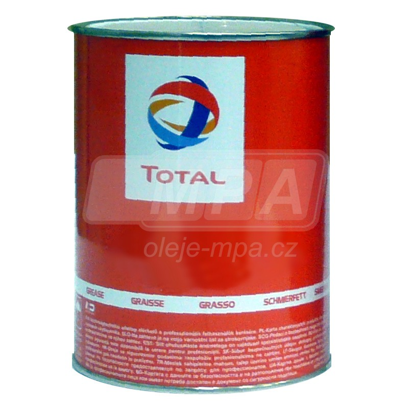 Vazelina Total Multis EP 2 - 1kg - Třída NLGI 2