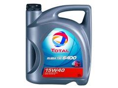 Motorový olej 15W-40 SHPD Total Rubia TIR 6400 - 5 L Motorové oleje - Motorové oleje pro nákladní automobily - 15W-40