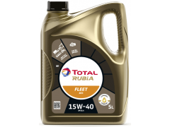 Motorový olej 15W-40 Total Rubia 4400 (Fleet HD 400) - 5 L Motorové oleje - Motorové oleje pro nákladní automobily - 15W-40