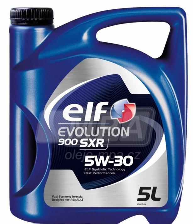 Motorový olej 5W-30 Elf Evolution 900 SXR - 5 L - Oleje 5W-30